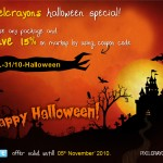Celebrate Halloween with PixelCrayons and Get 15% Discount on PSD to HTML Service
