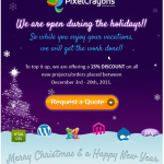 Christmas Bonanza: Avail 15% Discount on all Markup Services at PixelCrayons
