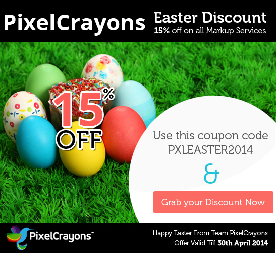 Easter discount by PIxelCrayons