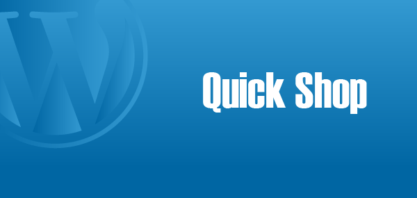Quickshop-Wordpress-Plugin
