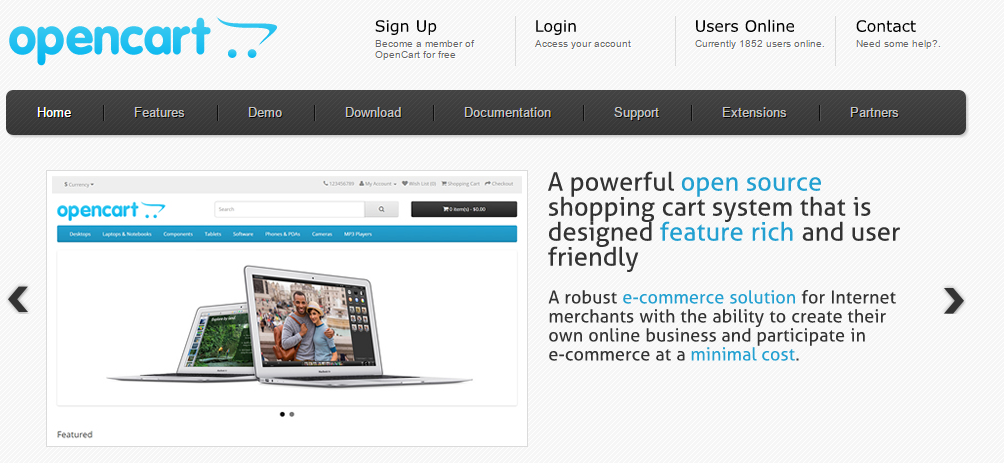 OpenCart   Open Source Shopping Cart Solution