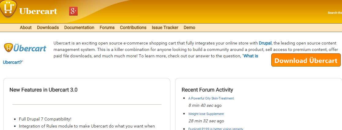 Ubercart  the Free Open Source E Commerce Shopping Cart Solution   Software for Drupal  E Commerce