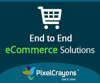 PixelCrayons ecommerce development services