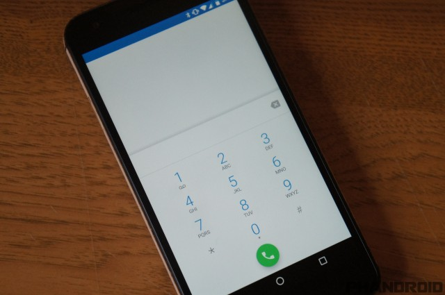 Android-N Number Blocking features Screenshot