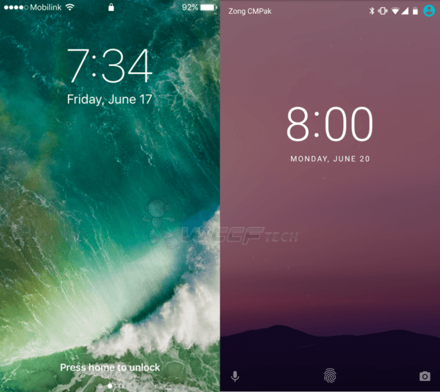 iOS 10 Beta Vs Android N_1