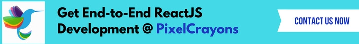 ReactJS Development @ PixelCrayons