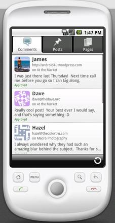 WordPress for Android Version 1.2 Released