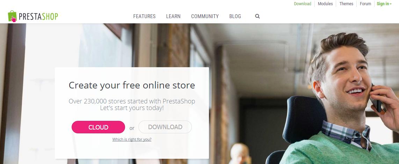 PrestaShop   Free ecommerce software