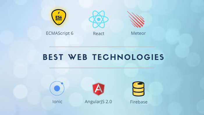 Best Web Technologies for 2015