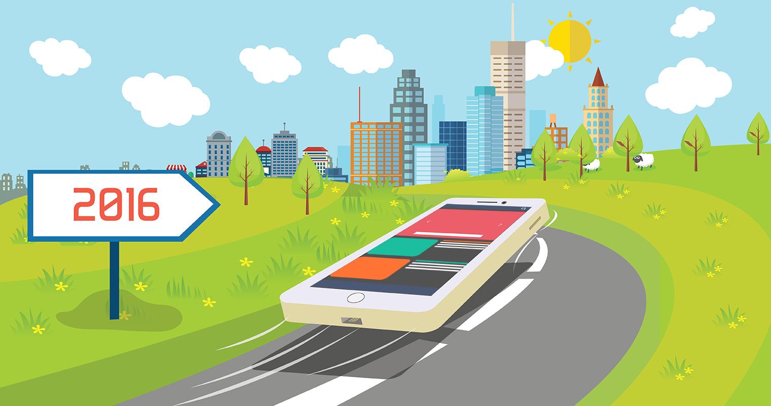 5 Interesting Mobile App Development Trends for 2016