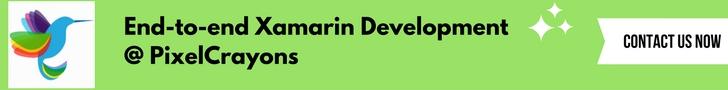 Xamarin development @ pixelcrayons