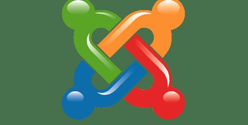joomla 3D logo.