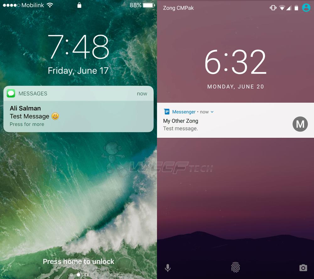 iOS 10 Beta Vs Android N_9