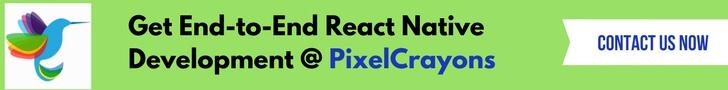 React Native Development- PixelCrayons