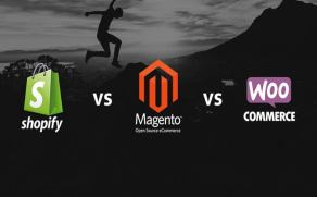 Shopify vs Magento vs WooCommerce