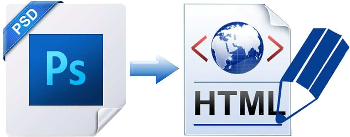 Role of PSD to HTML Conversion in the Success of a Website