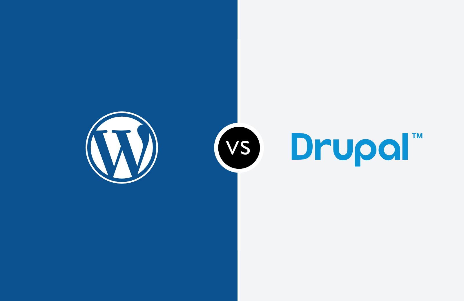 wordpress or drupal