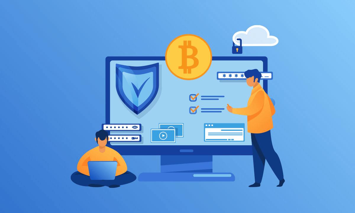 how blockchain makes data secure