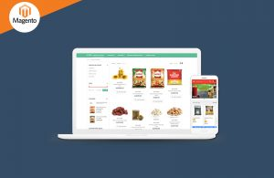 Hyperlocal grocery shopping platform