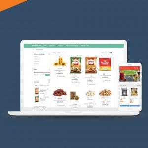 Hyperlocal grocery shopping platform