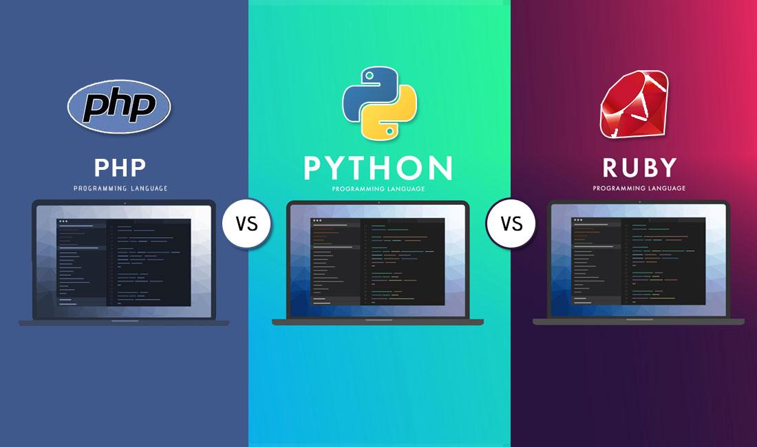 php vs python vs ruby