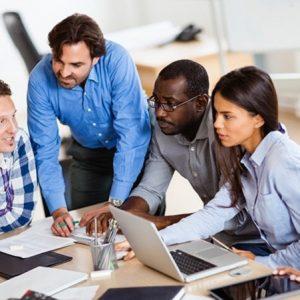 A software development team