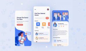 healthcare web app development
