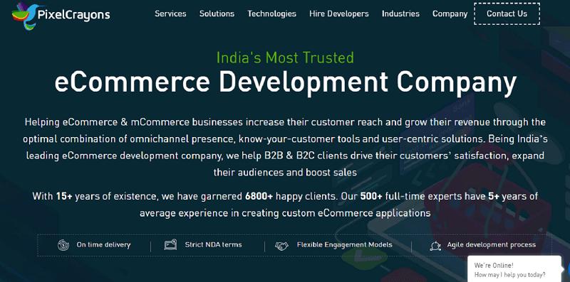 best ecommerce development company