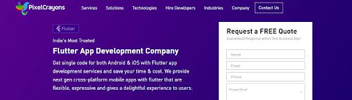 List of Top Flutter App Development Companies