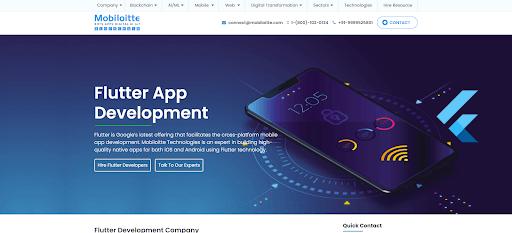 dedicated Flutter app developers