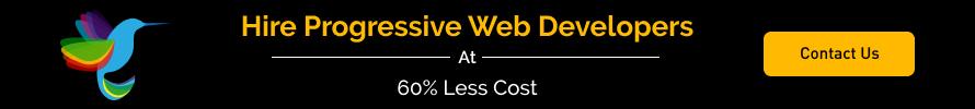Hire progressive web app developers