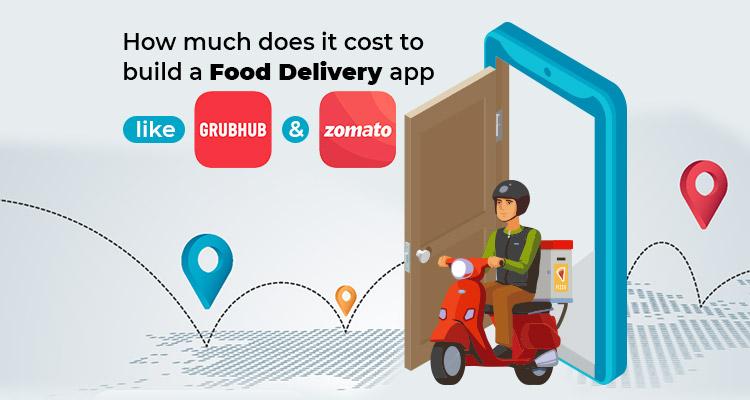 online food delivery app development cost