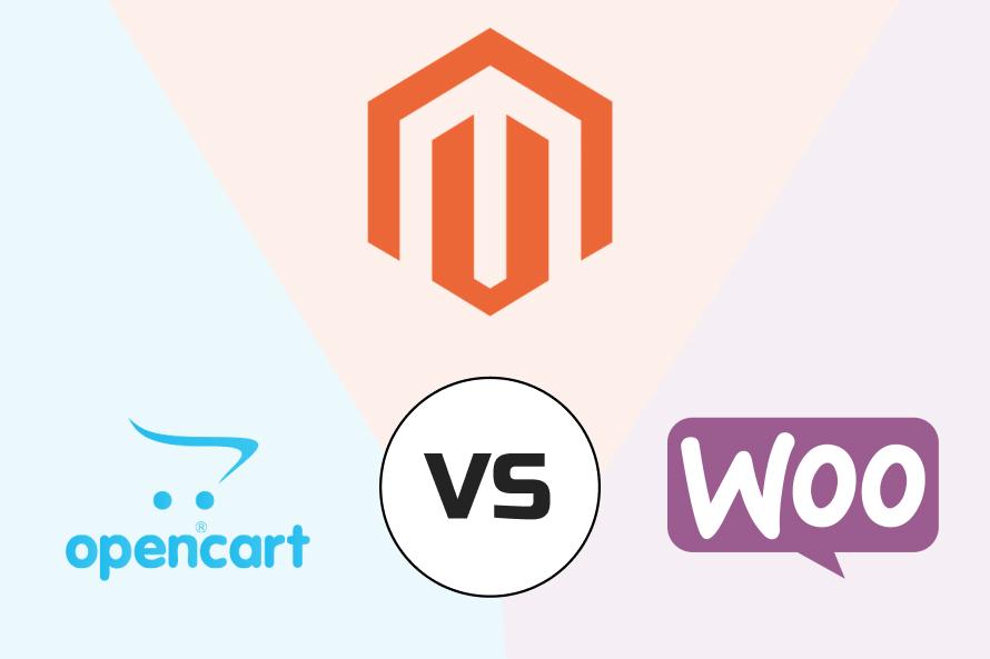 magento vs opencart vs woocommerce