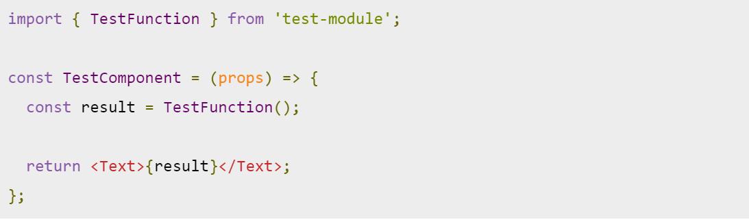 react native coding