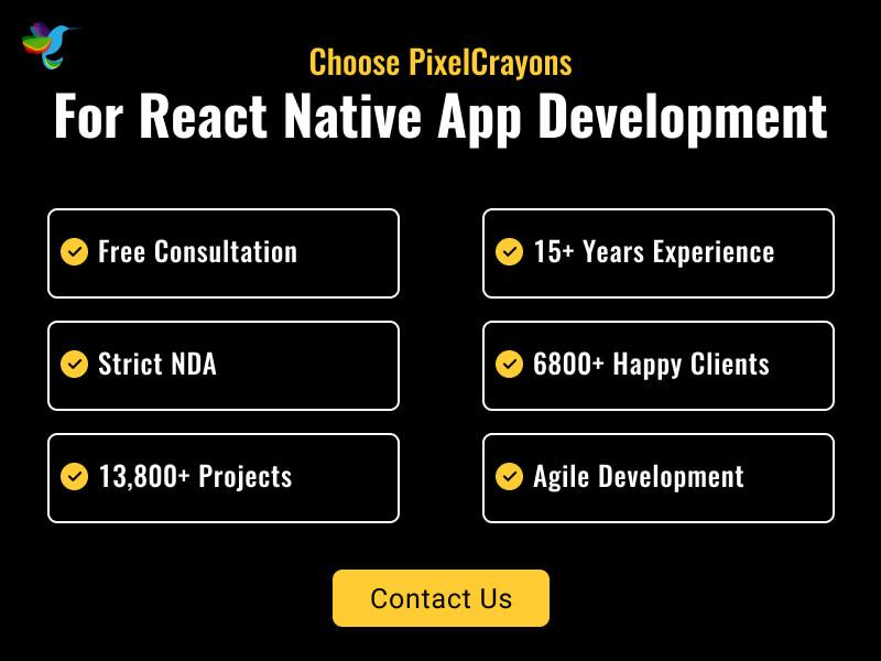 react native app development company India