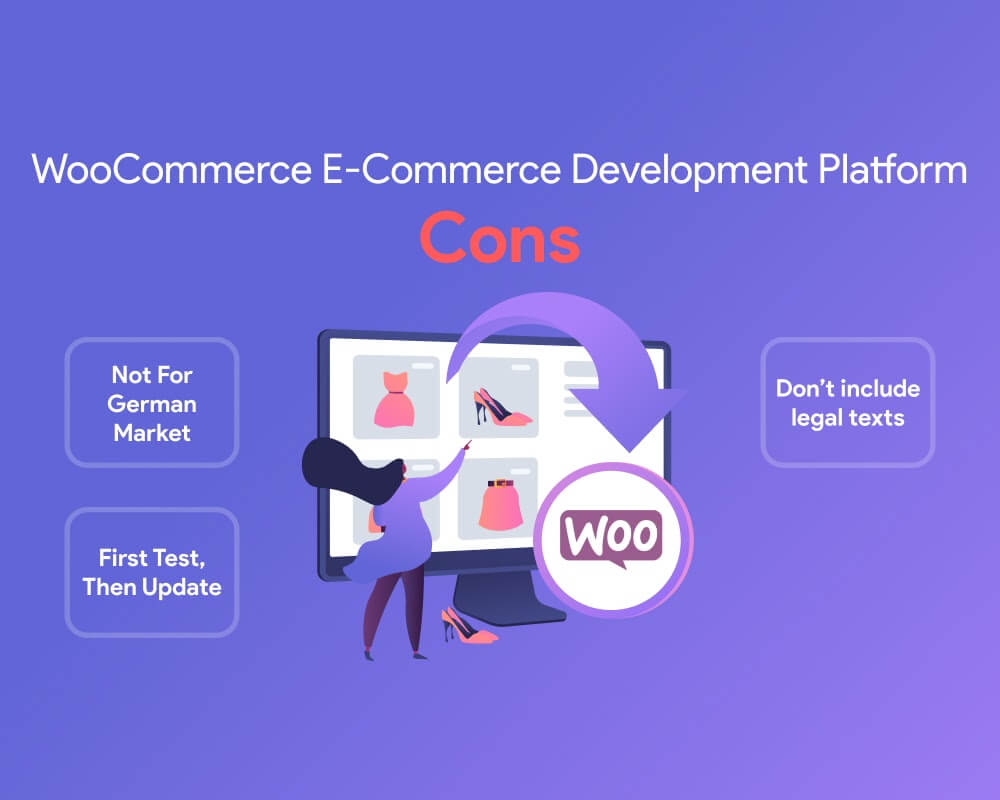 cons of woocommerce