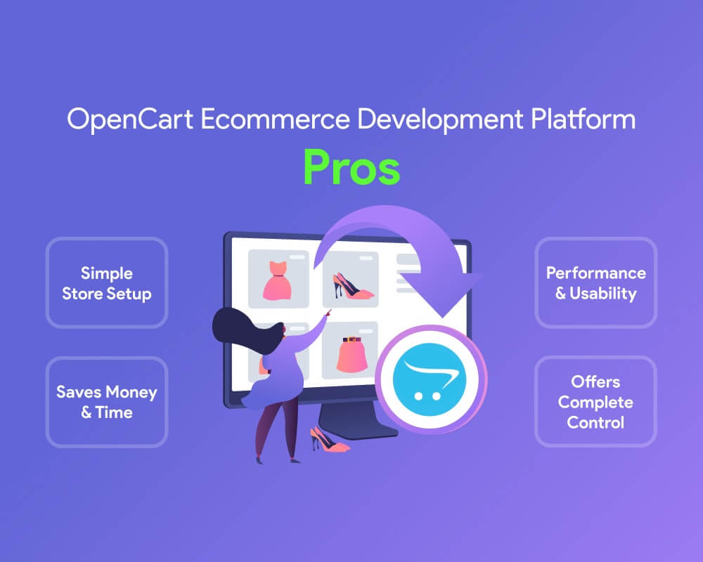 pros of opencart