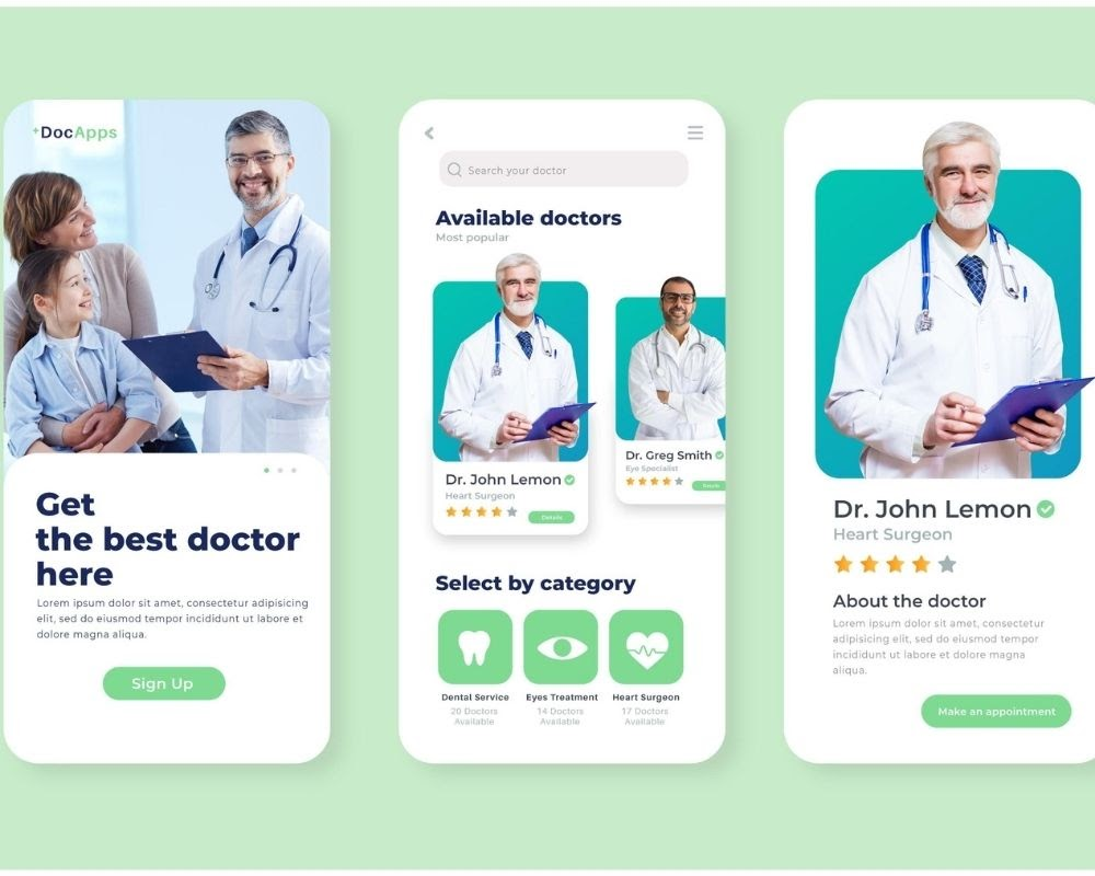 doctor's appointment booking apps