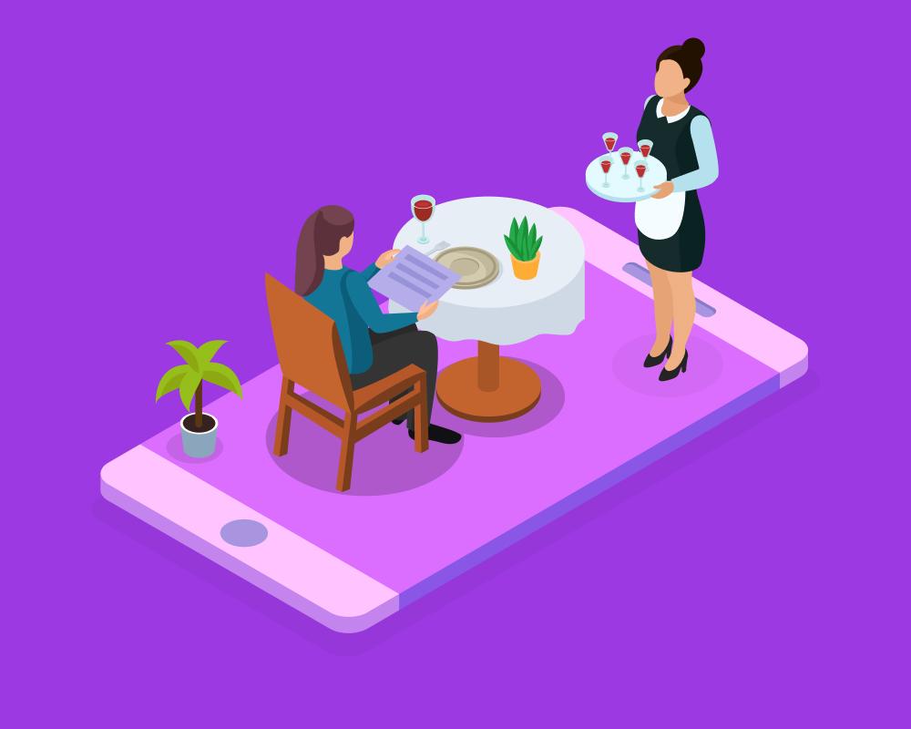 Dining App development