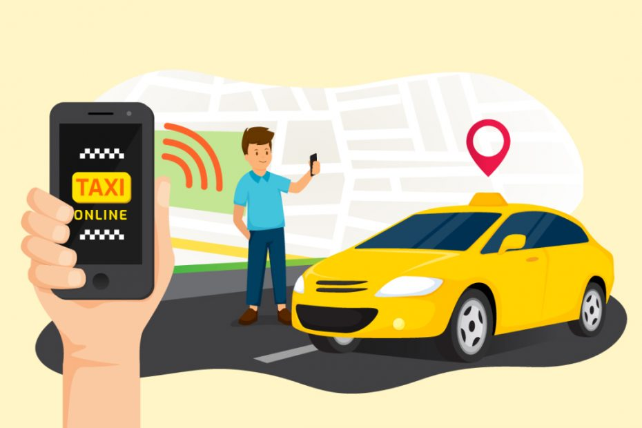 taxi booking app development company in India